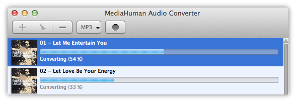 Converting APE to MP3