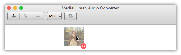 Add iTunes albums to convert