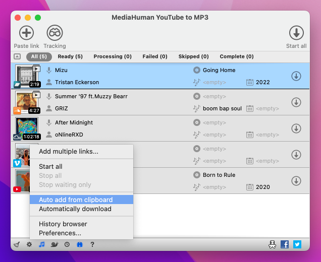 Free YouTube to MP3 Converter - download music and take it