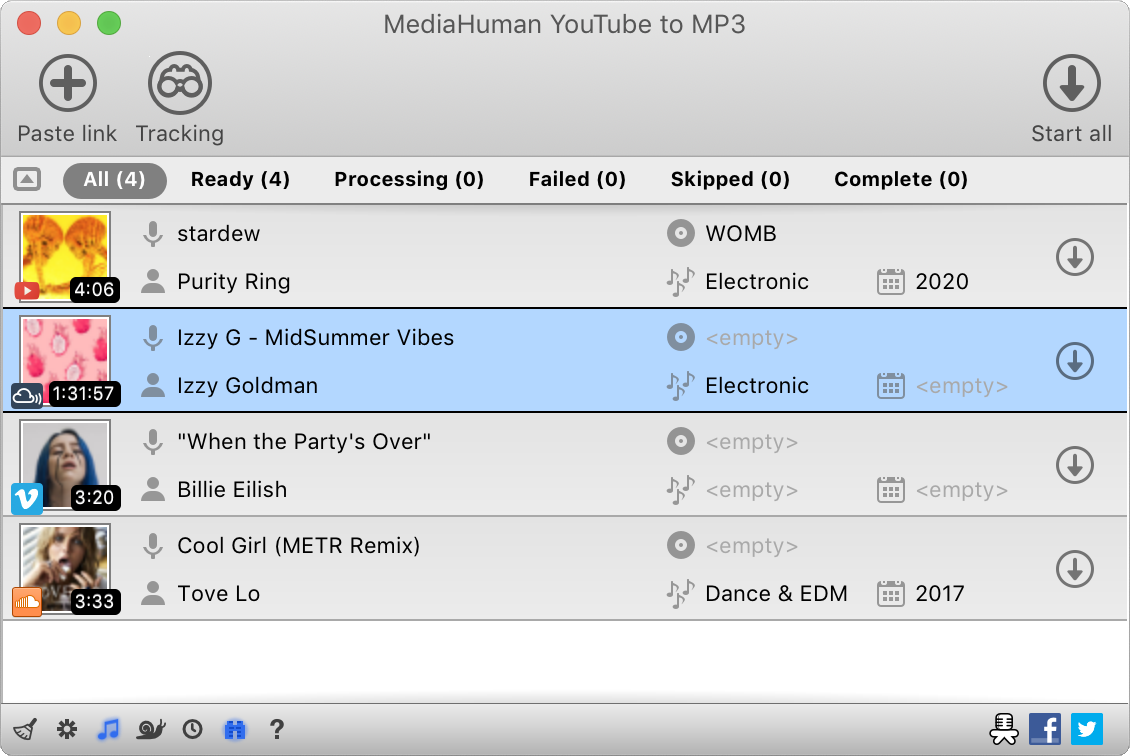 MediaHuman Free YouTube to MP3 Converter 2.8.2