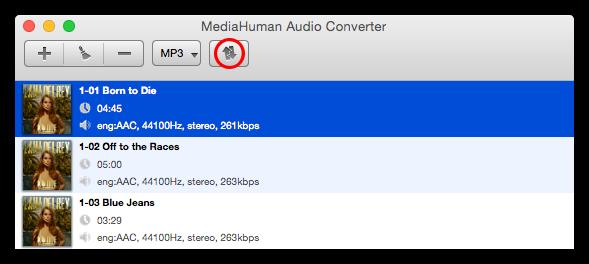Начните перенос композиций iTunes на USB флешку