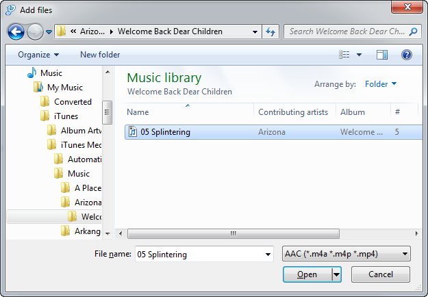 How to convert protected M4P music to MP3