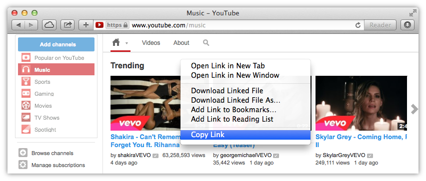 How to download any youtube video copying the video links ccuart Images