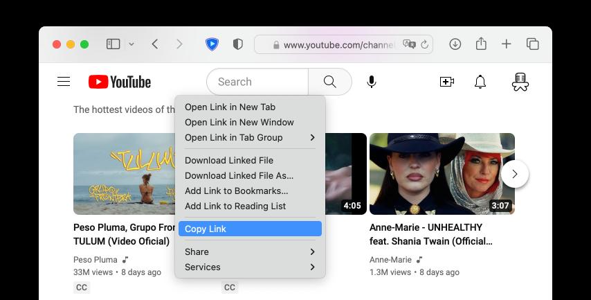 Como baixar e salvar qualquer vdeo do youtube encontre o vdeo no youtube usando o seu navegador favorito ento clique com o boto direito e copie a url ccuart Gallery