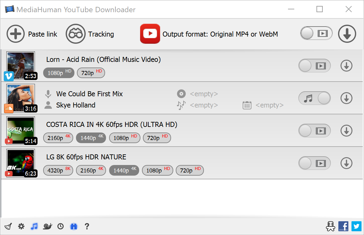 MediaHuman YouTube Downloader 3.9.9.34 多國語言免安裝版