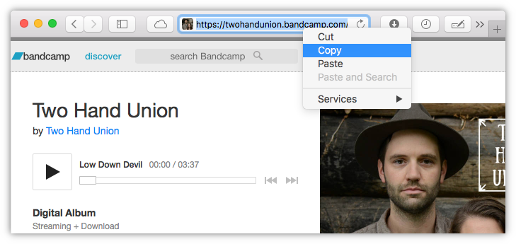 How to download music from Bandcamp in MP3 format on macOS, Windows